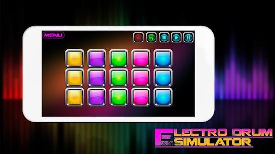 Electro Drum Simulator - náhled