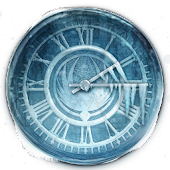 Frozen Clock Widget
