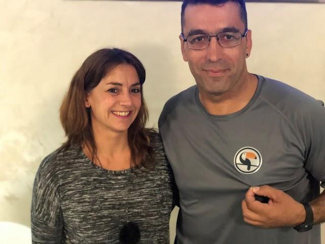 Carmen Rueda y Manuel Fernández Miranda.