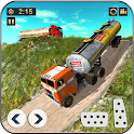 Offroad Oil Tanker Transport Truck Driver 2019 icon