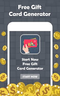 Free Gift Card Generator - náhled