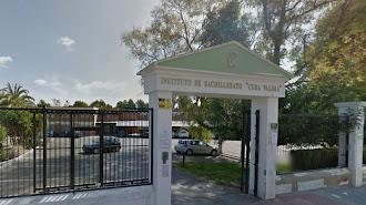 Entrada a las instalaciones del instituto huercalense.