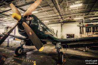 Photo: Vought F4U Corsair on the USS Midway