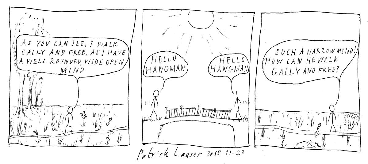HANGMEN - a really nice cartoon strip!