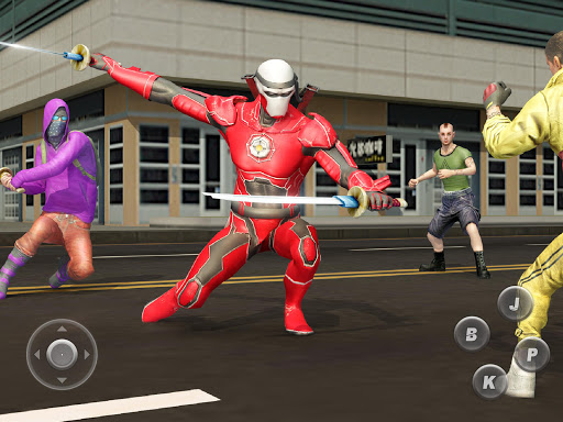 Ninja Superhero Fighting Games: City Kung Fu Fight 5.9 screenshots 17