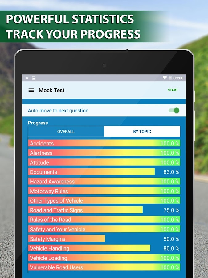 Theory Test +Hazard Perception- screenshot