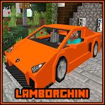 Lamborghini Car MCPE Mod Addon Icon