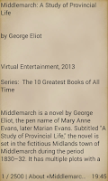 Screenshot of Middlemarch