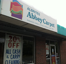 Photo: Albrite Carpets, Inc. in Lawrence, MA proudly displaying their BBB Accreditation
