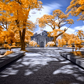 Paco Park in IR by Hiram Abanil - Buildings & Architecture Public & Historical ( ir, infra, paco )