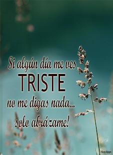 Frases Tristes De Amor Applications Sur Google Play