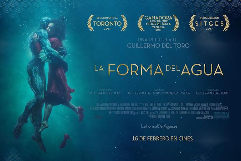 """Resultado de imagen para """"La forma del agua"""" poster"""
