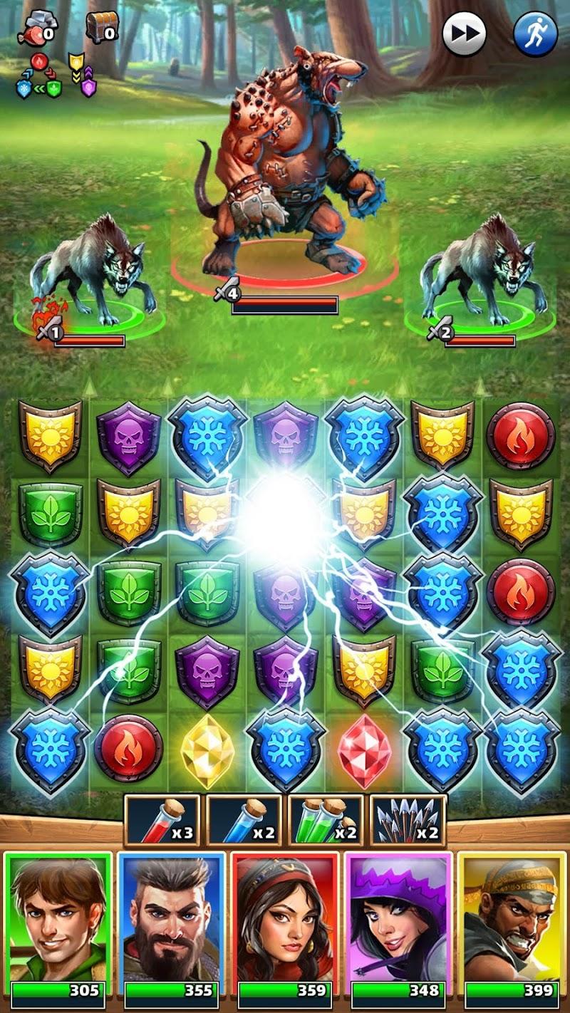 Empires & Puzzles: RPG Quest Screenshot 5