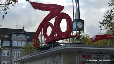 """Photo: Albert Hien; Lichtskulptur """"Zoo"""""""