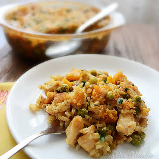 Chicken and Rice Casserole.