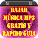 Bajar Musica MP3 Gratis y Rapido Guia icon