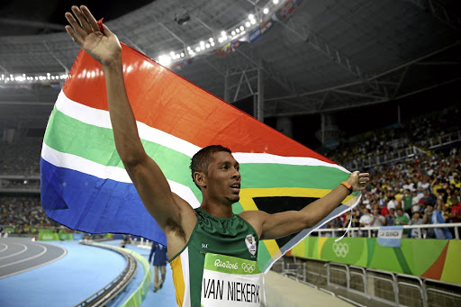 Wayde van Niekerk. Picture: GALLO IMAGES