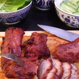 Banh Mi With Char Sui Pork.