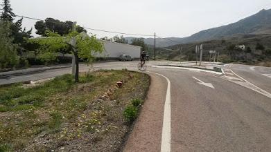 Photo: The steep climb @ Illar