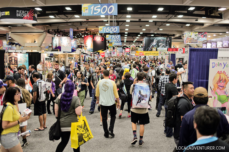 International Comic Con San Diego 2015.