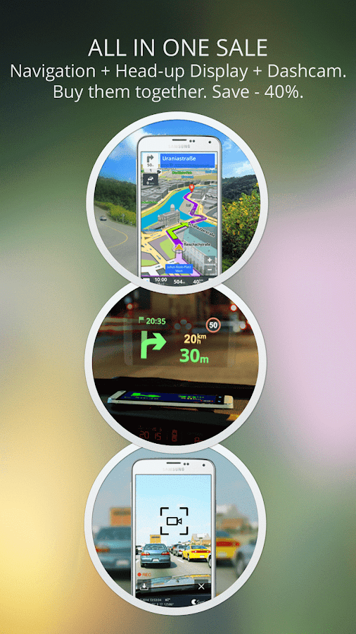 GPS Navigation & Maps Sygic - screenshot