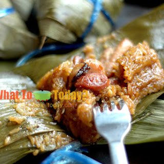 GLUTINOUS RICE CONES / ZONG ZI (12-16 medium to large zong zi)