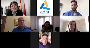 Desarrollo de la Junta de portavoces virtual en Adra.