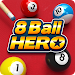 8 Ball Hero - Pool Billiards Puzzle Game icon
