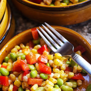 Corn & Edamame Succotash.