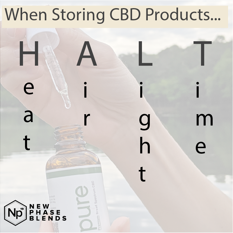 Methods for Storing Your CBD Oil Products