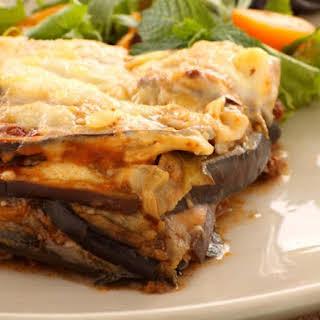 Beef Eggplant Moussaka.