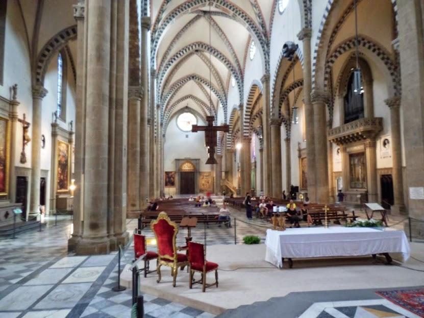 Interior de Santa María Novella