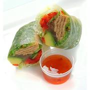 Vegetarian Rice Paper Roll