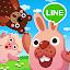 LINE Pokopang - POKOTA's puzzle swiping game!