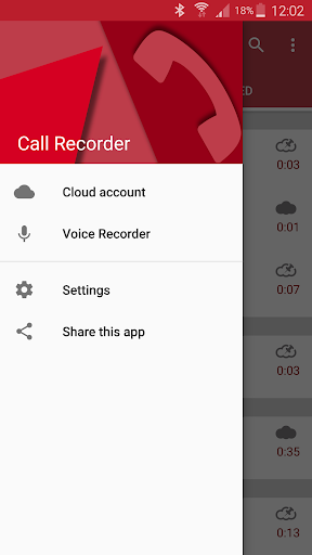 Automatic Call Recorder 5.58 screenshots 2