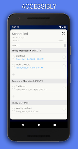 Reminders 1.5.8 screenshots 2