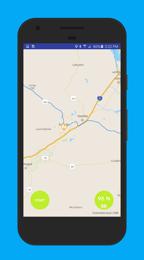 Electrip: Electric Vehicle GPS- screenshot