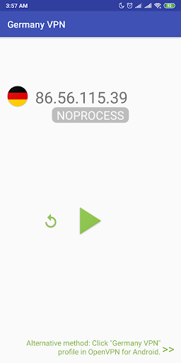 germany vpn - plugin for openvpn screenshot 1