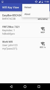 [root] Wifi Key View
