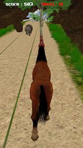 Jungle Horse Run 3D screenshot 4