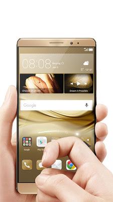 Gold Theme for Huawei Mate 8 - screenshot