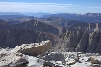 Photo: From the Mount Whitney summit, southwest