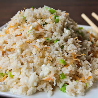 Fried White Rice With Egg Recipes.