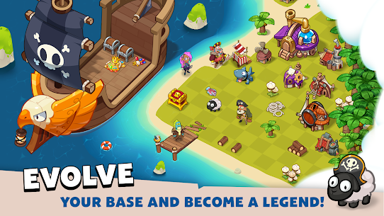 Pirate Evolution! Mod Apk 0.19.1 (Unlimited Gold/Diamonds) 8