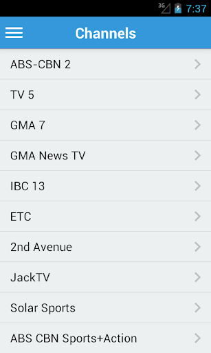 Philippine Television Guide