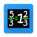 Improper Fraction Practice icon