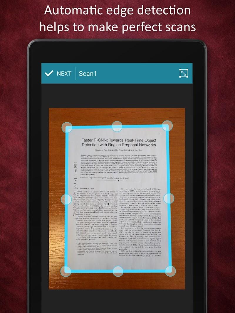 Smart Doc Scanner: Free PDF Scanner App Screenshot 9