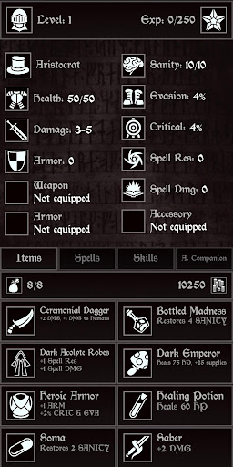 Grim Quest - Old School RPG 0.18.6 screenshots 6