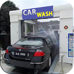 New Car Wash Service Station