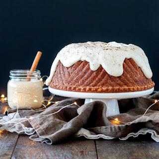 Rum & Eggnog Bundt Cake.